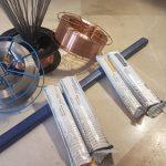 جنس فلز الکترود